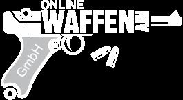 Logo Online Waffen MV weiss